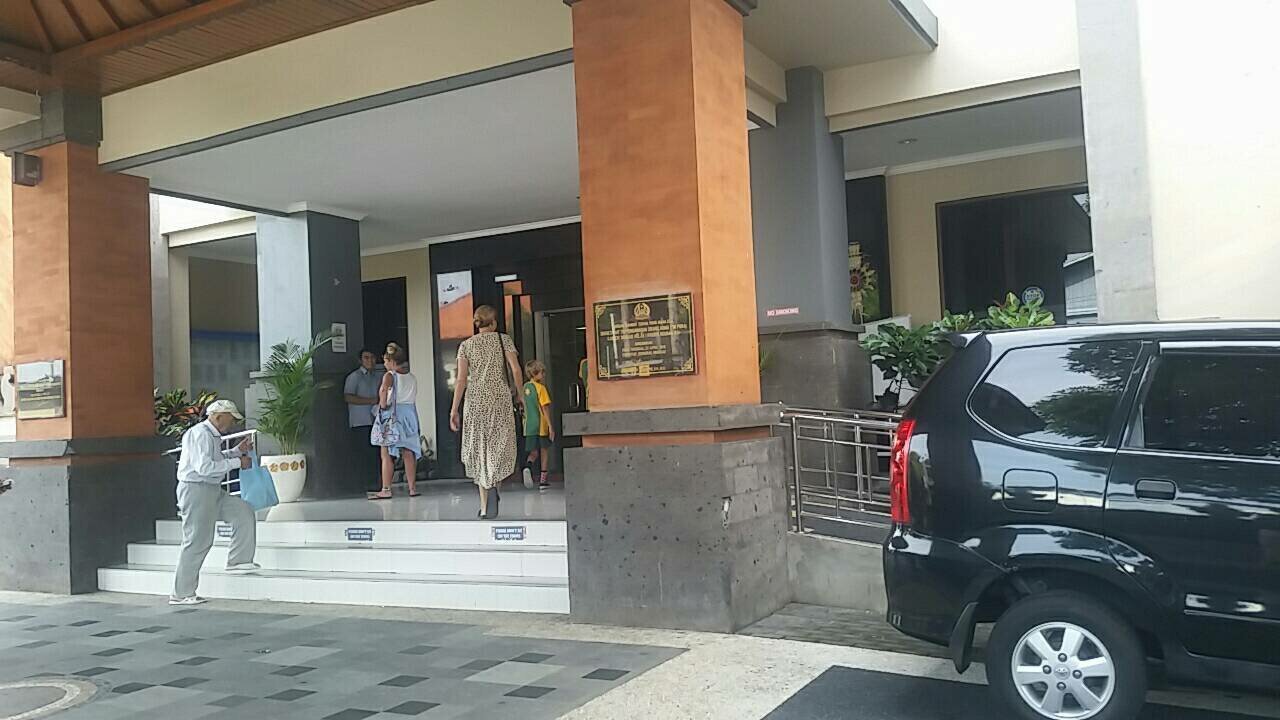 Jimbaran Immigration Office entrance.