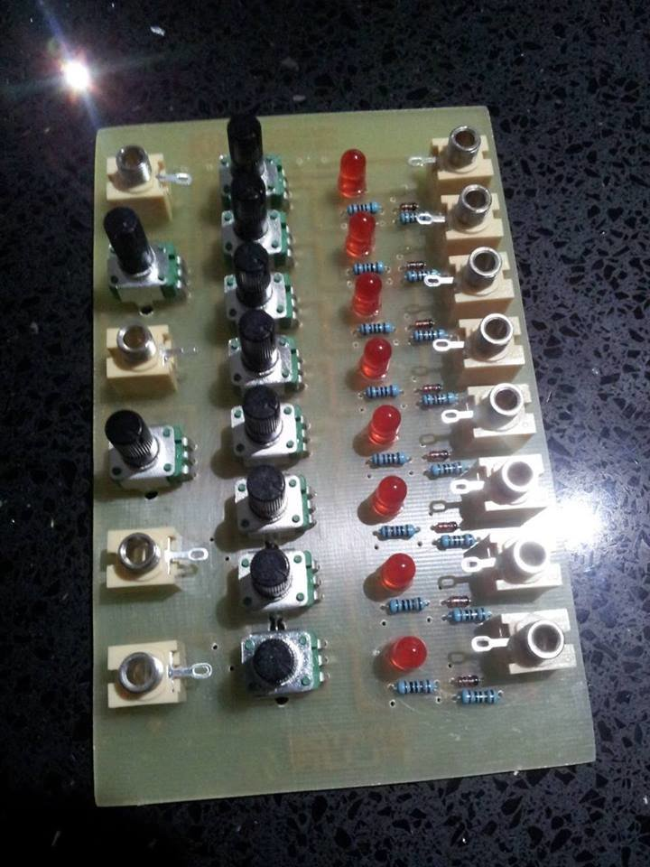 Frequency Central's initial prototype