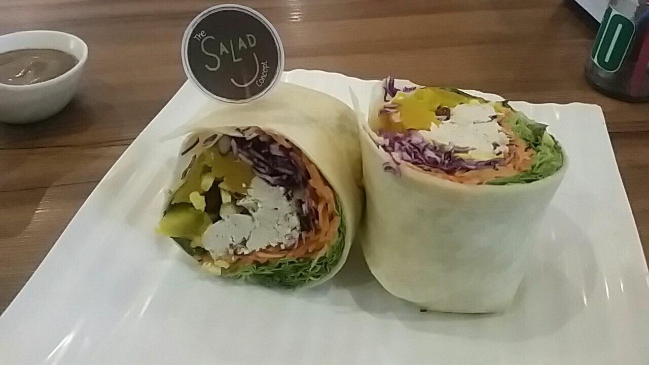 Salad Concept Wraps.