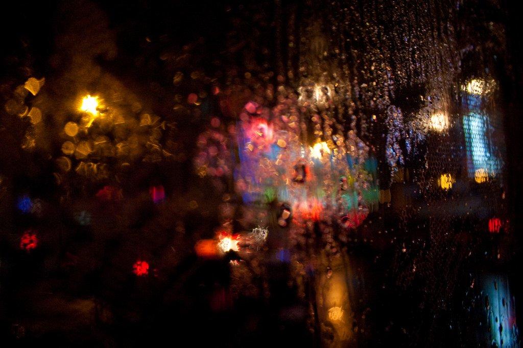 """Night Rain"" by Vladimir Agafonkin is licensed under CC BY 2.0"