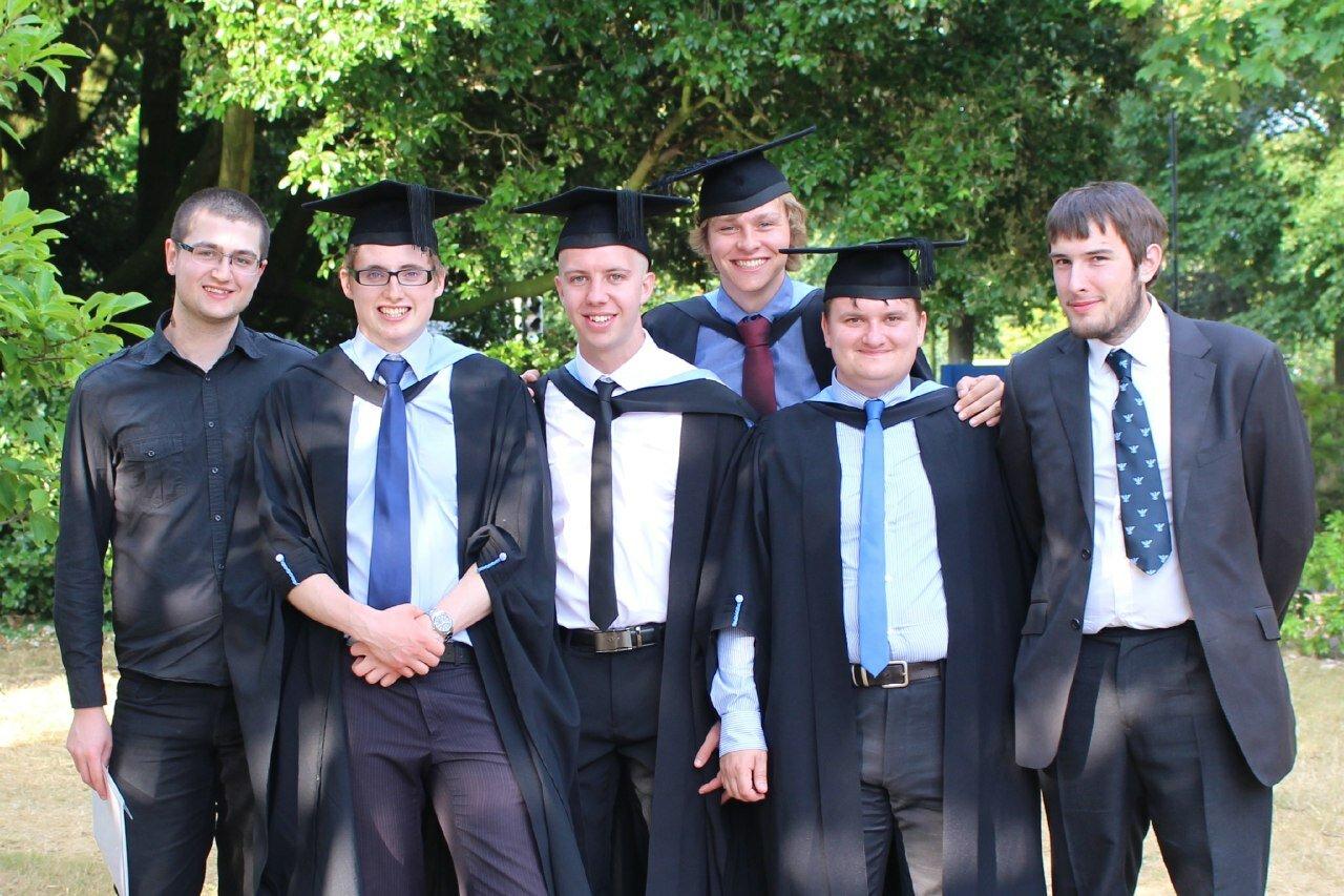 Myself, Lloyd, Daniel, Matt, Andy, Edmund.