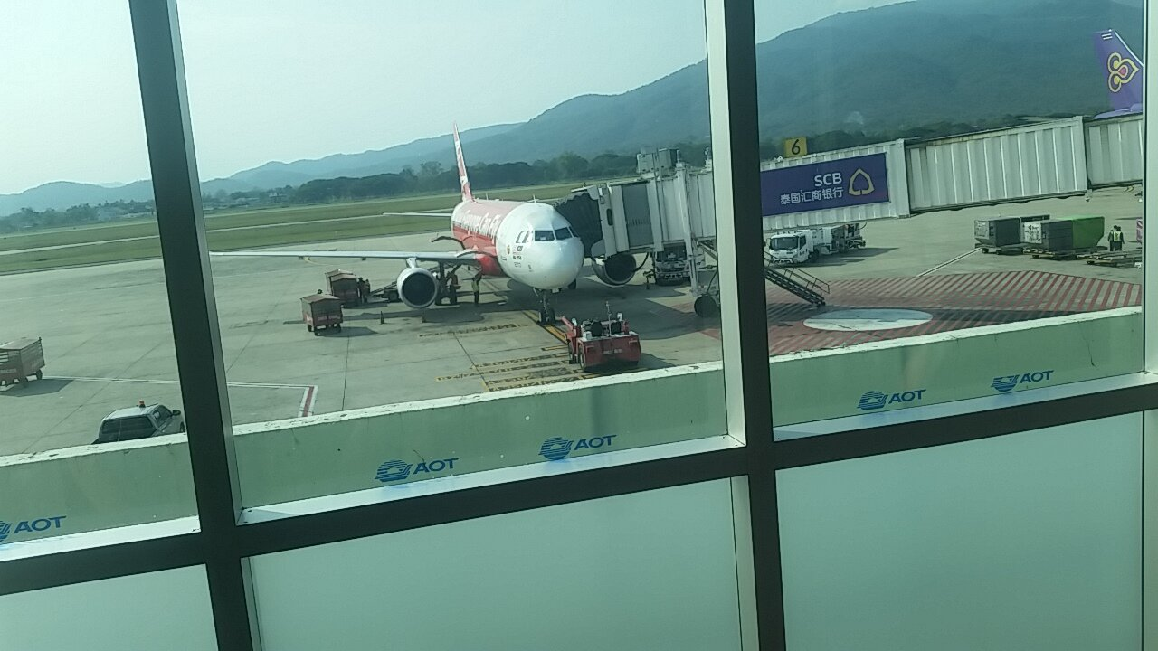My plane at Chiang Mai Aiport.