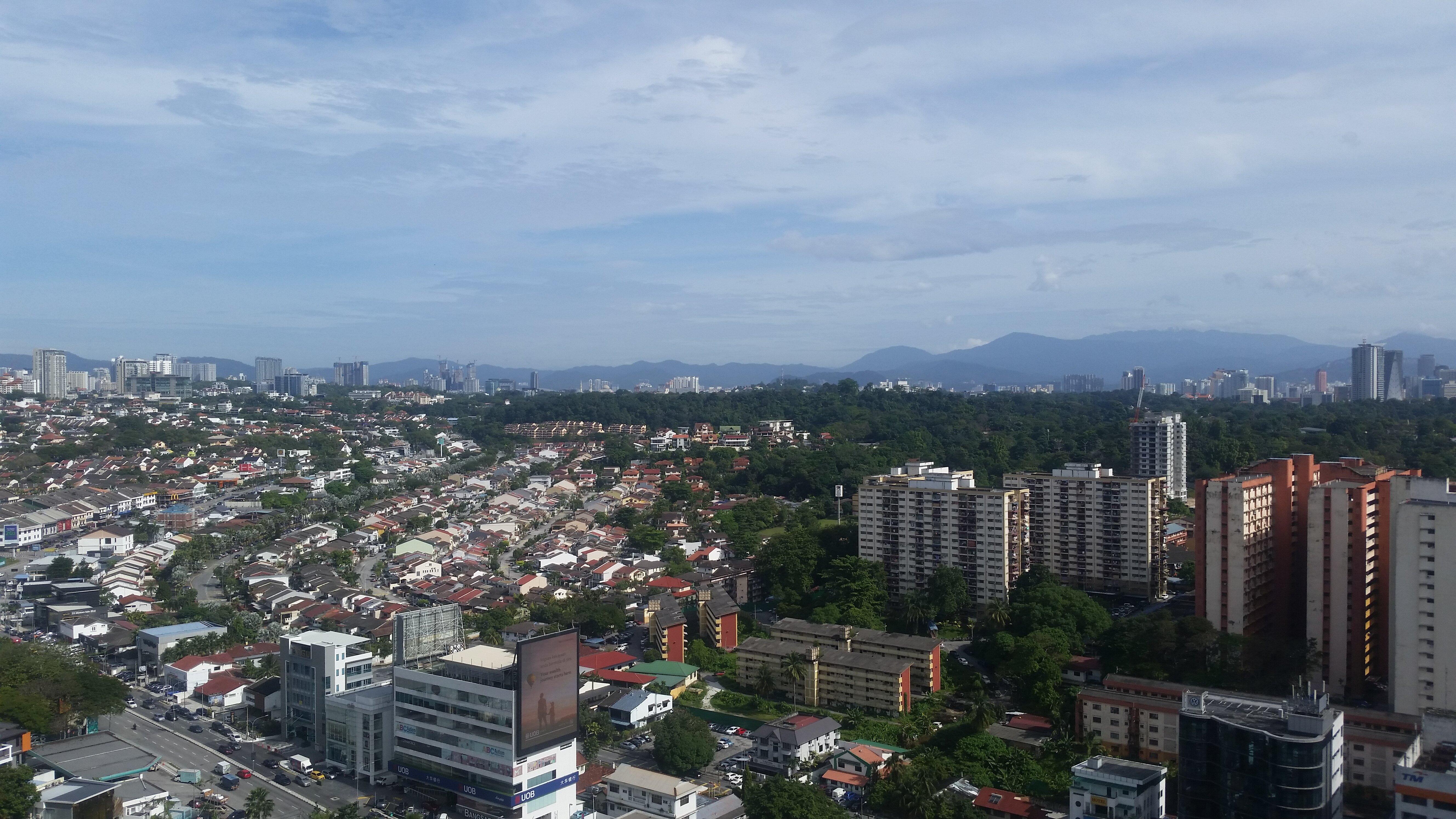 The view from Nadi Bangsar.