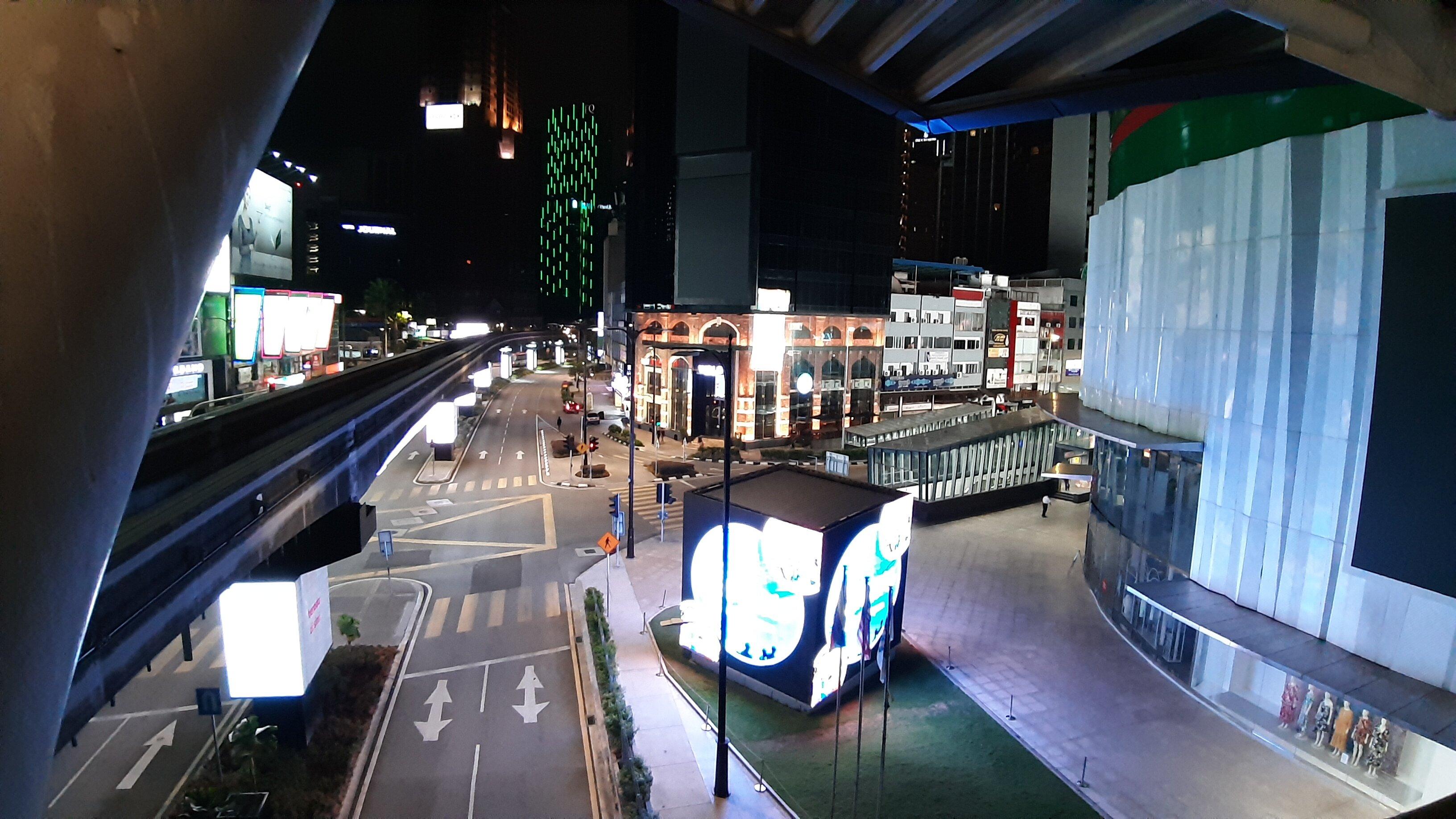 Bukit Bintang, uncharacteristically empty.