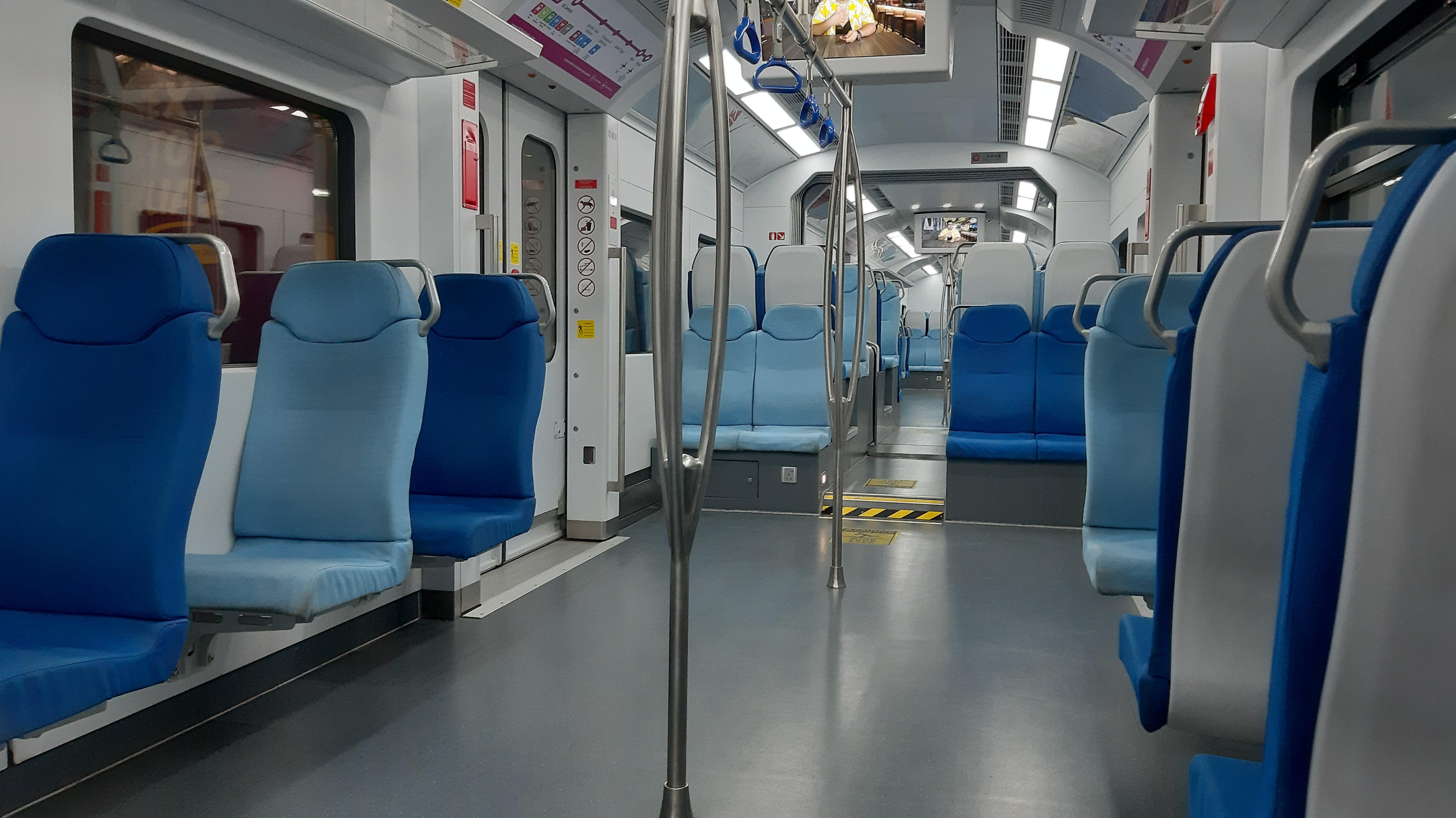 Deserted KL Ekspres Train during Coronavirus Lockdown.