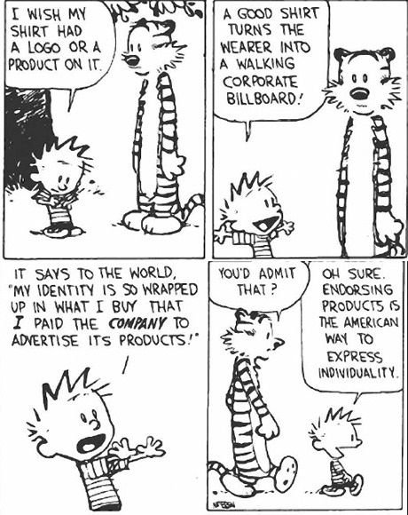 Comic from Calvin and Hobbes