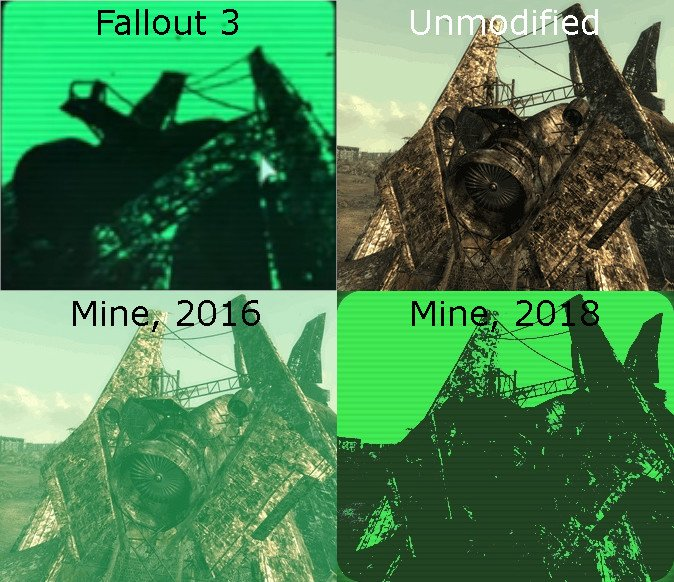 Megaton Images, in Fallout 3, and in my old and new attempts.