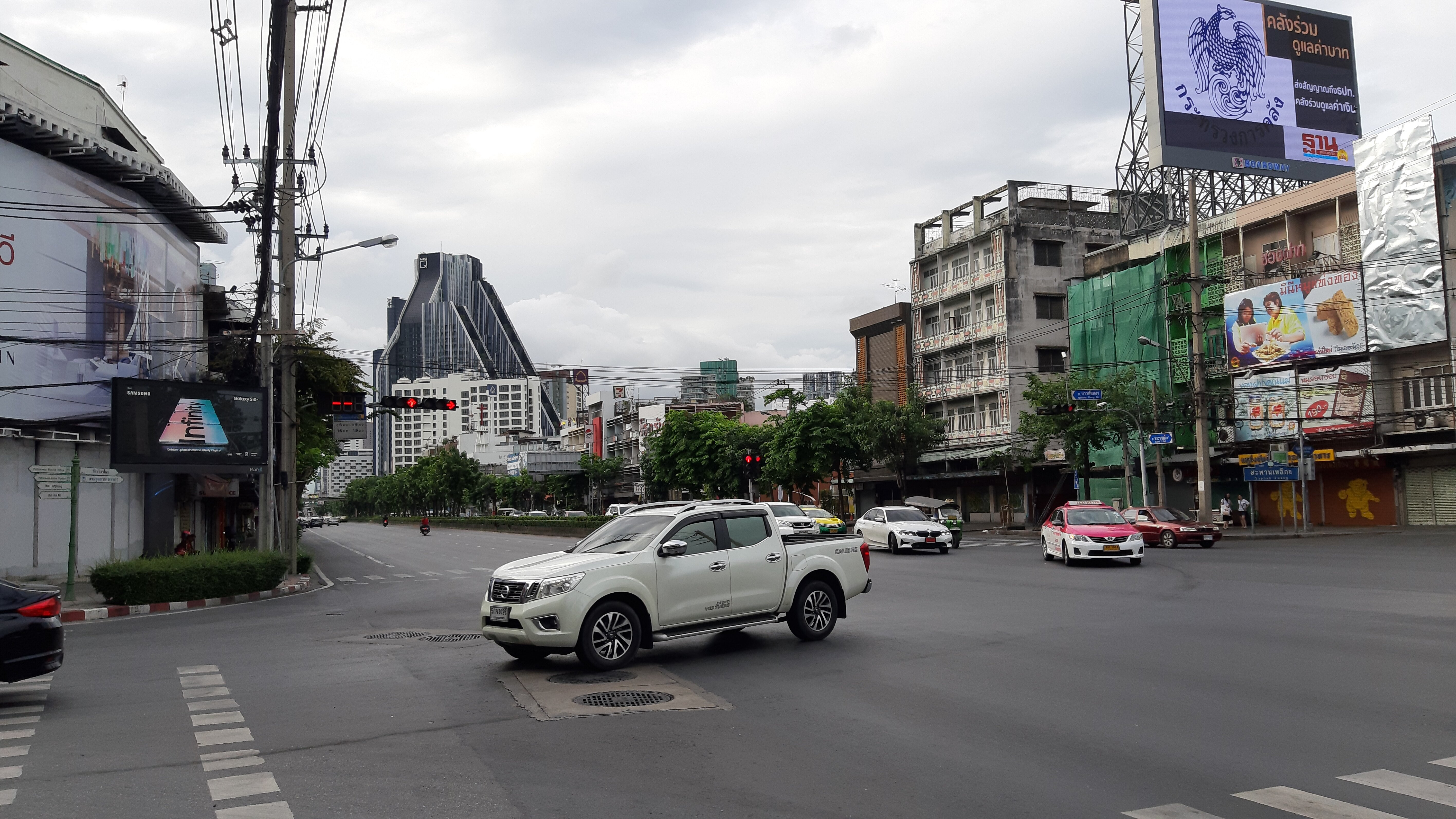 Crossroad in Bangkok.
