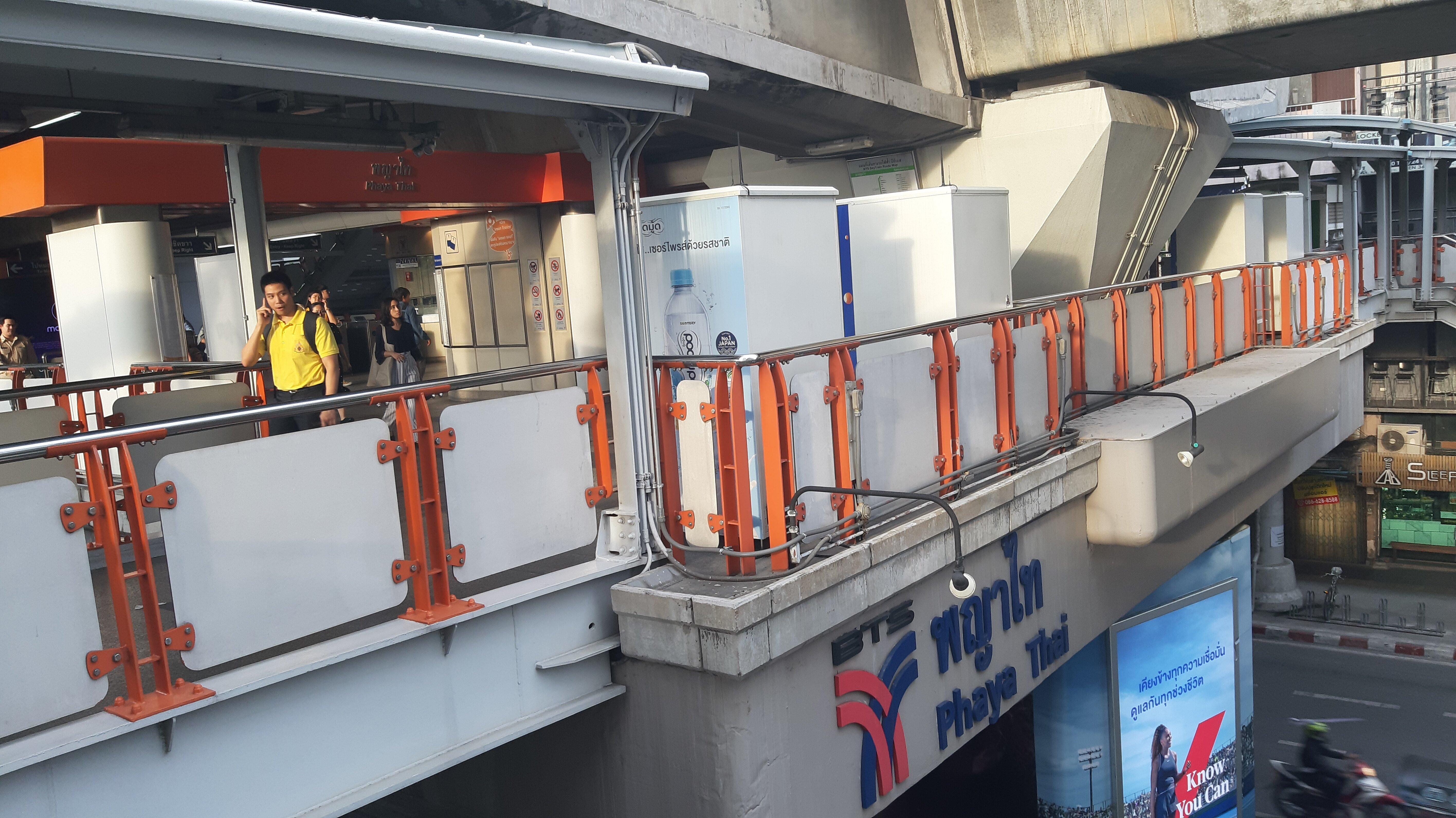 Phaya Thai Transport Hub.