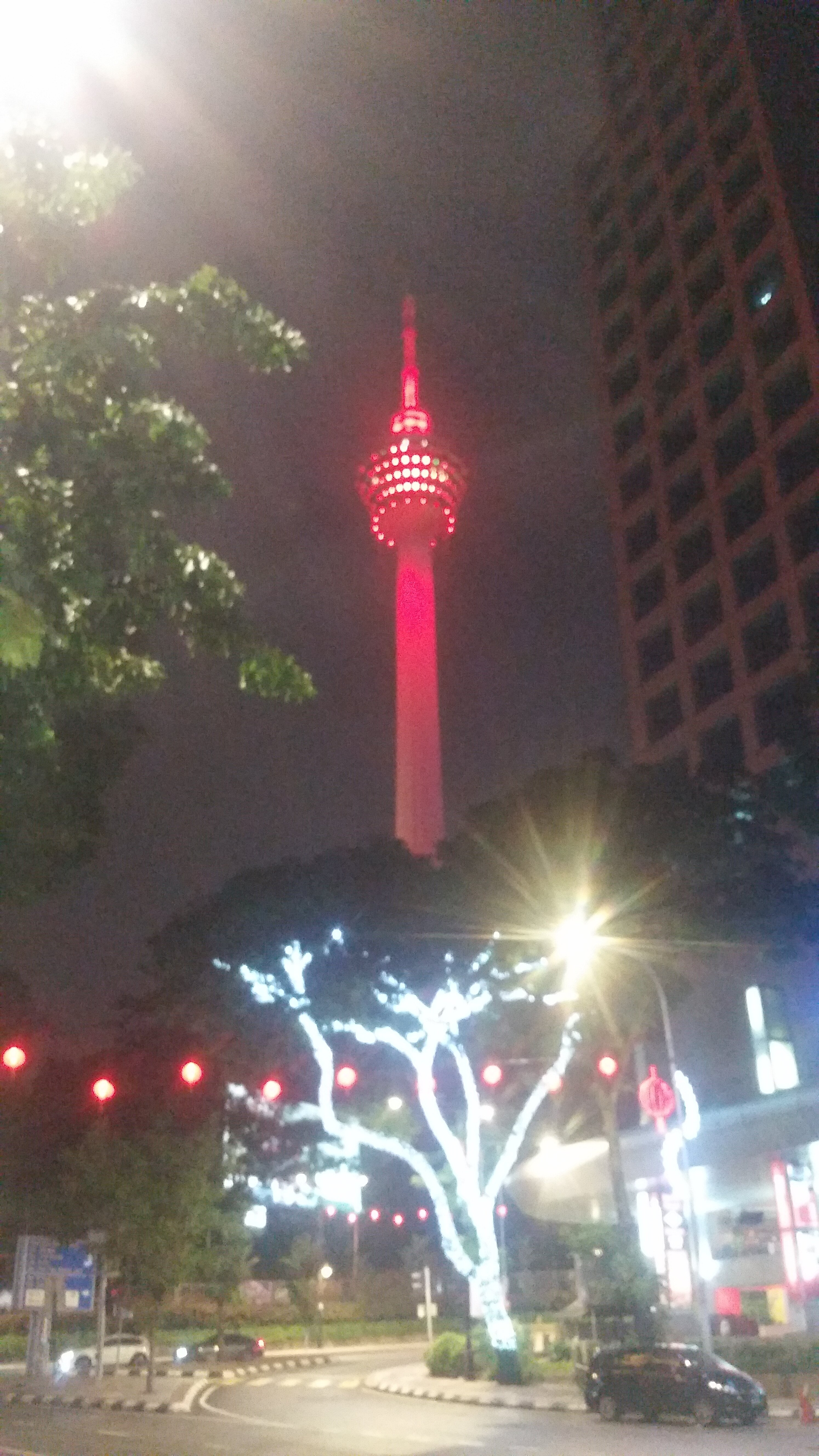 KL Tower from afar.